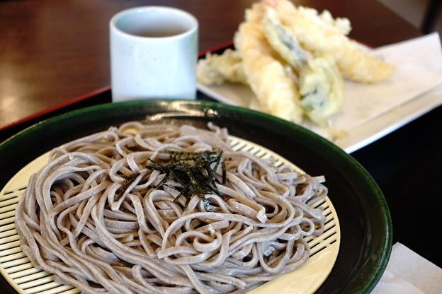 天ざる蕎麦(道の駅・たたらば壱番地【島根】)
