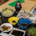 刺身定食(道の駅・上天草さんぱーる【熊本】)