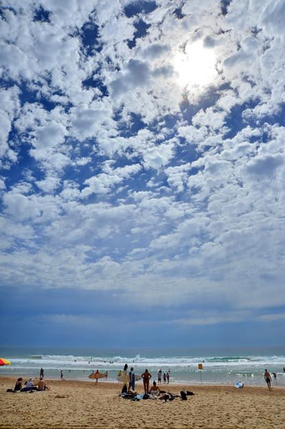 Manly beach 陽光