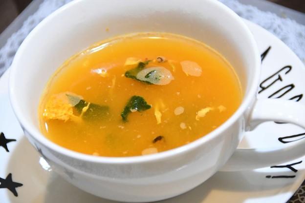20181121夕食スープ 58BF12C0-B9A3-4B97-B439-B384BCF61E95