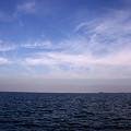 東京湾の秋空