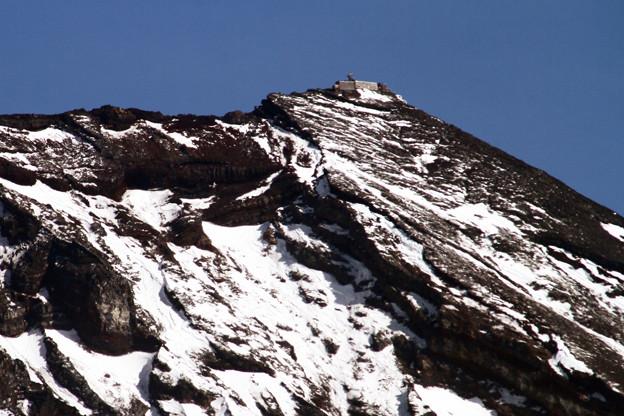 富士山特別地域気象観測所(剣岳)