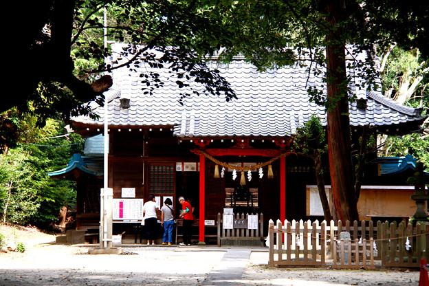 中山神社(旧称氷川簸王子神社)埼玉県さいたま市