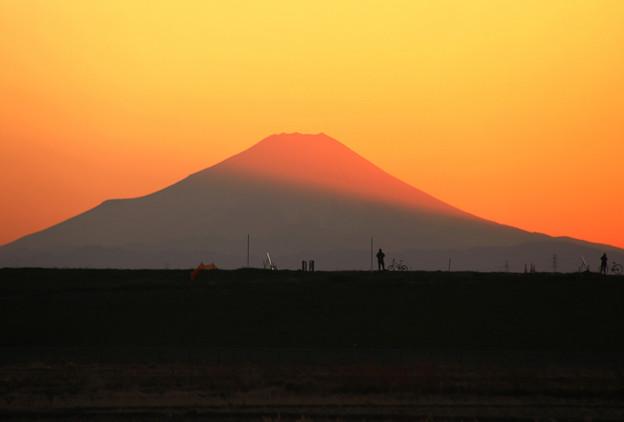 Photos: すそ野の影