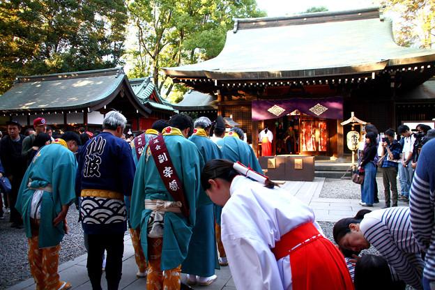川越氷川神社 祭礼