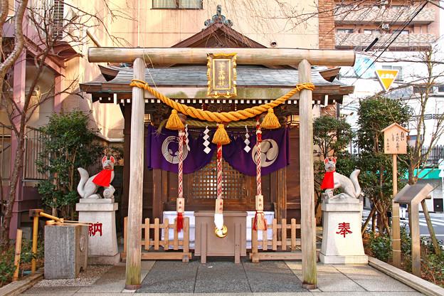 茶ノ木神社 東京都中央区