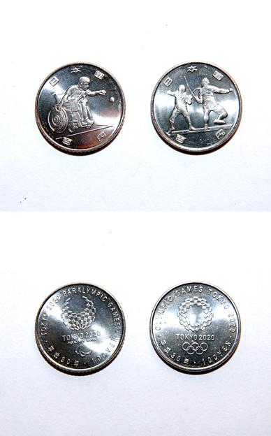 Tokyo2020記念硬貨