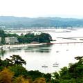 Photos: 松島湾(2枚の合成)