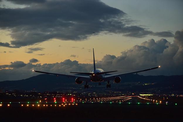 Twilight Landing