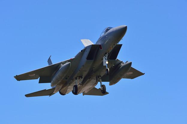 F-15J、小松より飛来