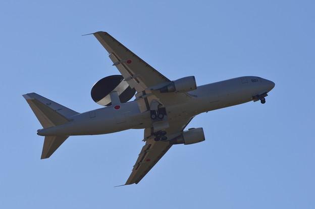 Photos: E-767 航過飛行