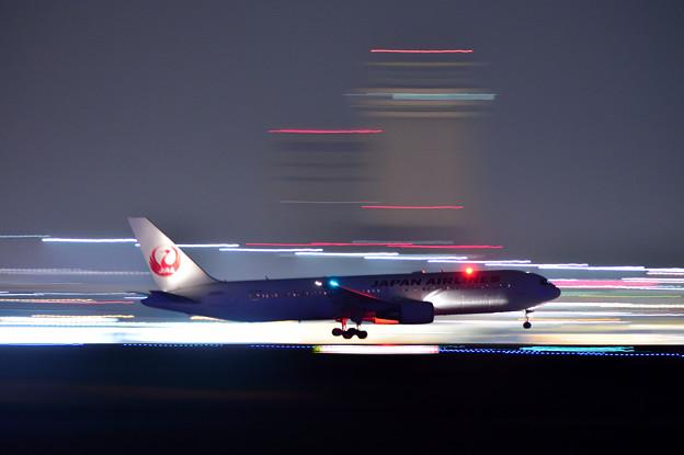 HND R/W22 Landing