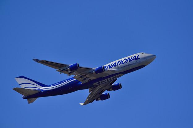 NACIONAL B747-400F TAKE OFF