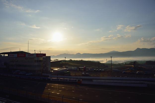 富士SWから朝陽を