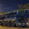 写真: 夜彩 重機械