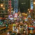 写真: 香港夜市HDR