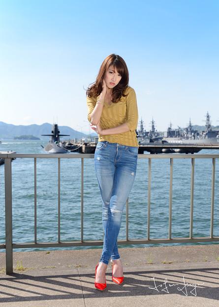 写真: 七海パンツ引きS