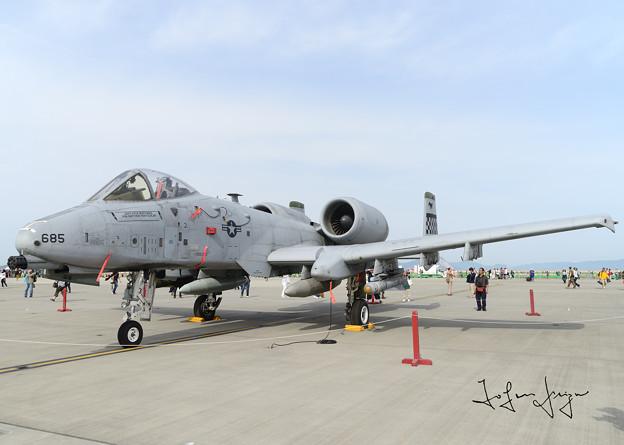 A-10地上展示