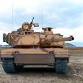Photos: M1A2塗装修正後