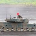 Photos: 90式戦車走行