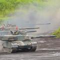 Photos: 90式戦車小隊入場2