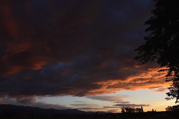 5月29日の夕焼け