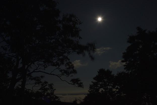 津別峠 月光雲海