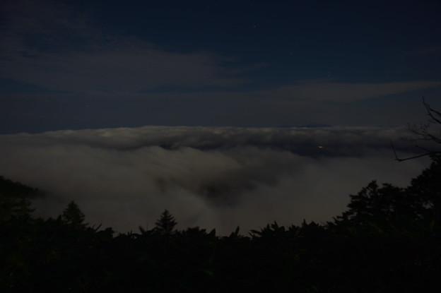津別峠 夜中の雲海