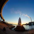 写真: 堺燈台-09047