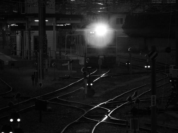 輝く鉄路と701系