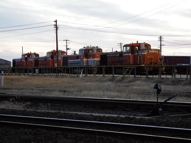 JR貨物DL×4