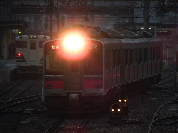 701系5連&キハ40