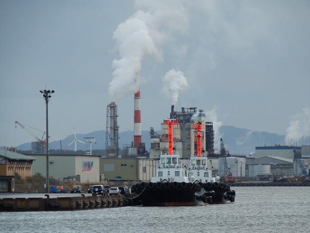 タグボートと製紙工場 vol.1