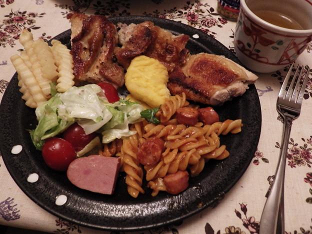 夕食のワンプレート