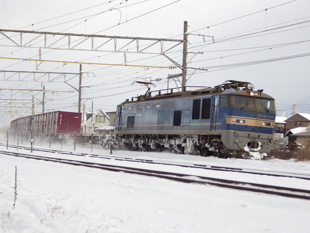 EF510‐505牽引上り貨物