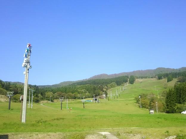 大仙市太田の大台スキー場『展望台もあります』