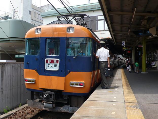 近鉄12200系(近鉄名古屋線)(2008年7月撮影)