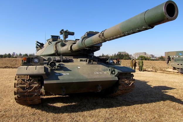降下訓練始め34 74式戦車