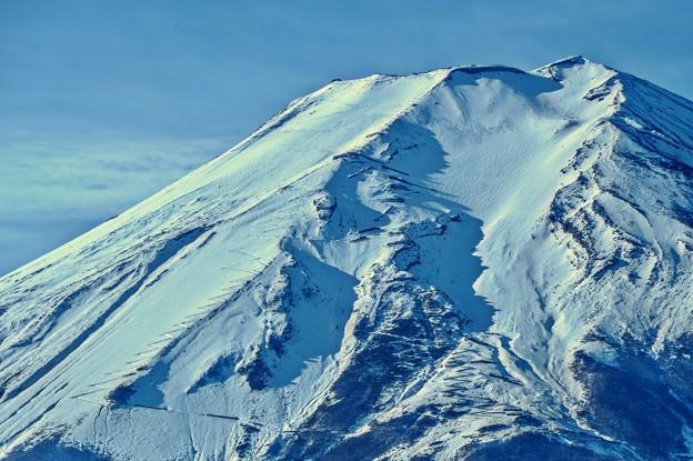 Photos: 冬富士 ~天空への途~