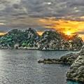 Photos: 三四郎島の夕暮れ ~Izu Peninsula Geopark~