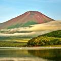 Photos: 夏のあとさき ~赤富士~