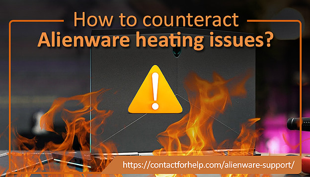 How to counteract Alienware heating issues?