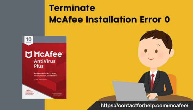 Terminate McAfee installation error 0