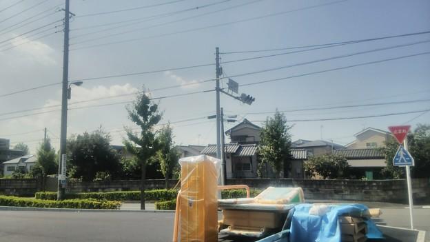 【足立区栗原にて3】ここは石塚公園北のそばです
