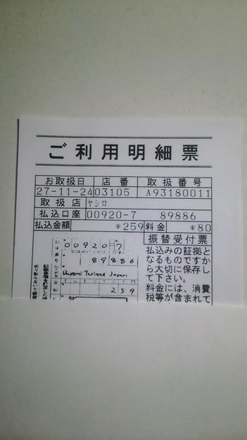 For Kids' Sake Japanに寄付した明細書