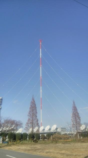 【12月12日は加須市へ!その13】送信アンテナ(鉄塔)全景