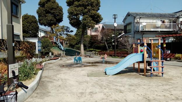荒川区町屋の公園です。2