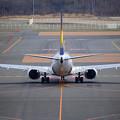写真: 春の新千歳空港にて1