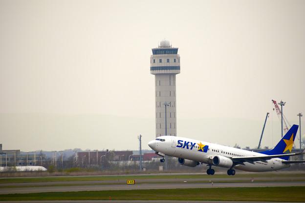 写真: 春の新千歳空港にて5