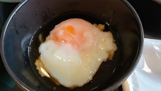 源泉で出来た温泉卵